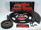 KAWASAKI KLR650 '90/16 JT BLACK 520 X-Ring CHAIN AND SPROCKETS KIT