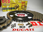 DUCATI 2002 M750 ie MONSTER 750 DID X-Ring CHAIN AND SPROCKETS KIT *OEM, QA ,Fwy