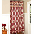 Primitive Shower Curtains Country Style Rustic Bathroom Decor Hearts and Stars