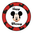 24 PERSONALIZED MICKEY MOUSE HAPPY BIRTHDAY PARTY FAVOR LABELS STICKERS 167