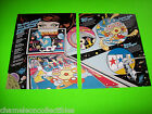 GALAXY By STERN 1980 ORIGINAL PINBALL MACHINE PROMOTIONAL SALES FLYER BROCHURE