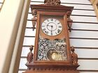 1882 Seth Thomas Concord Wall Clock Table ClockVintageChime