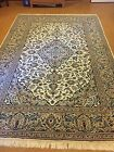 7X10 Persian Isfahan Antique Wool Area Rug Hand-Knotted Carpet (6.9 x 10)