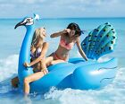 Swimming Pool Lake Beach Float Giant Peacock RaftInflatable water party toy New