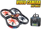 World Tech Large Panther Spy Drone UFO Video Camera 24GHz RC Quadcopter Plane