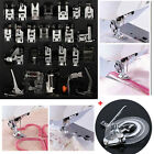32PCS Sewing Machine Foot Presser Feet +Daisy Flower Stitch For Brother Singer