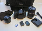 Canon EOS Rebel T6s 760D with Tamron 18 270mm VC lens and 50mm 18 Lens A047