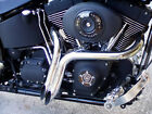 NEW 2 CHROME LAF EXHAUST Y PIPES SOFTAILS SPORTSTERS BAGGERS CUSTOMS