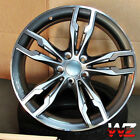 18 Competition Style Wheels Gunmetal Fits BMW 2 3 4 Series 328 330 335 535 545