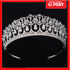 SWEET Vintage Wedding Bridal Pearl Crown Diana Tiara Princess Hair Accessories