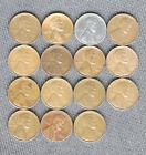 1941 S THRU 1955 S 15 S MINT PENNIES NICE COINS LOW SHIPPING LOT 13