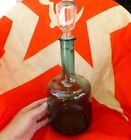 VTG old Russian USSR glass Decanter bar WINE home distiller Vodka old 1950s