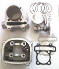 Gy6 150cc Engine 574mm Rebuild Top End Head Cylinder Bore kit Gaskets Version A