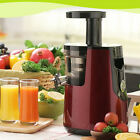NEW Slow Juicer 220V  Whole Fruit Vegetable Citrus Squeezer Juice Maker Machine