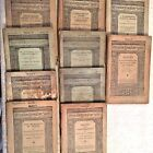 10 Old Antique Books All Late 1800s Early 1900s Riverside Literature Series