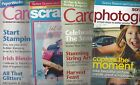 Lot of 4 Magazines CARDMAKER SCRAPBOOKS ETC SCRAPBOOKS ETC PHOTOGRAPHY S12