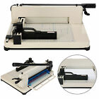 Heavy Duty 12 Guillotine Paper Cutter A4 B7 Trimmer Sheet Metal Base Commercial