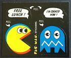 Vintage Stickers PAC MAN 24 Dated 1980