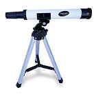 30X MiniTelescope Starter Kit Learning Science W 95in Tripod Kid Children Gift