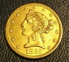 1885 S Liberty Head Half Eagle 5 Dollar US Gold Coin Very Rare Issue $$ ** $$