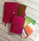 Weight Watchers 2017 Journal SMALL  Pocket Guide Covers Set of 2 48 Fabrics
