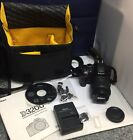 Nikon D D3200 242MP Digital SLR Camera Black Kit w AF S DX ED VR G 18 55mm