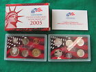 2005S  U S  Mint Silver proof set with COA and 5 state quarters