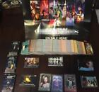 GALACTIC FILES Ser 2 STAR WARS Master Set : 410 Cards + Poster Box Wrappers