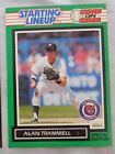 1989 Starting Lineup One On One Alan Trammell Tigers Baseball Card