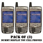 Pack of 3 NEW Verizon Palm 700w 700wx Treo Dummy Display Kids Toy Cell Phone