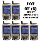 Lot of 6 NEW Verizon Palm 700w 700wx Treo Dummy Display Kids Toy Cell Phones