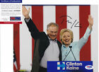 TIM KAINE HILLARY CLINTON VICE-PRESIDENT SIGNED AUTOGRAPH 8X10 PHOTO PSA DNA COA