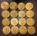 Vintage Great Britain Coin Lot! 1937-1952 - 3 PENCE -16 Excellent Coins -Lot 720