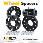 4pcs 25mm 5x455x1143mm Hub centric Wheel Spacers M12X125 661mm For Nissan