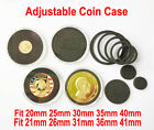 10 Commemorate Coin Challenge Badge Case Capsules HLDER Display for 20-41mm 40.6