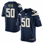 OFFICIAL Los Angeles Chargers Manti Te'O Nike Blue Team Limited Jersey 2XL - NEW