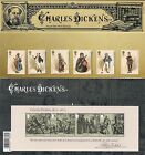 GB Presentation Pack 473 2012 CHARLES DICKENS  MINIATURE SHEET 10 off 5+