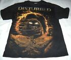 Indestructible Theme Disturbed Graphic  T-Shhirt Black Adult Large (42-44)