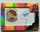2010-11 Panini Gold Standard Stephen Curry Autograph Team Logos Patch 65 199