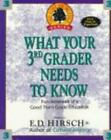 WHAT YOUR 3RD GRADER NEEDS TO KNOW Core Knowledge Series