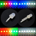 5 1000pcs DC5V PL9823 F5 5mm F8 8mm round hat RGB LED Frosted LED Chips P9823