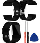 Silicone Wrist Watch Band Strap Bracelet With Tool Set For Fitbit Surge Large