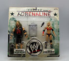 WWE Adrenaline Series No. 30 B. Mahoney and Kelly Kelly Figures FREE SHIPPING