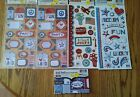 scrapbook tags stickers cardstock pad 4th of July