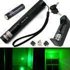 10 Miles Military Green 1mW 532nm Laser Pointer Pen Lazer Lamp Burning + Battery