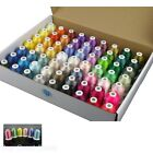 63Color Thread Yarn Professional Set Embroidery Machine Sewing Polyester