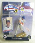 2001 STARTING LINEUP 2 SHAWN GREEN FIELDING FIGURE WITH CARD LOS ANGELES DODGERS