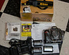 Nikon D3s Digital Camera Serviced by Nikon with Batteries Charger Box