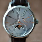 MAURICE LACROIX MASTERPIECE LUNE RETROGRADE MP6528 $8900 SILVER GOLD 43MM MOON