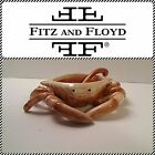 "Fitz & Floyd ""Seaboard"" Crab Butter Server & Spoon - New in Box -RARE"